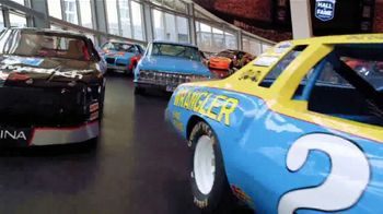 NASCAR Hall of Fame TV Spot, 'Glory Road Champions Exhibit' Featuring Dale Earnhardt Jr. - Thumbnail 3
