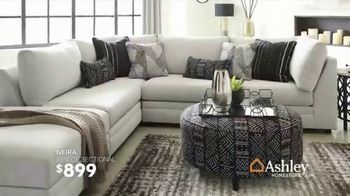 Ashley HomeStore Best of the Best Sale TV Spot, 'Queen Bed and Sectional' - Thumbnail 4