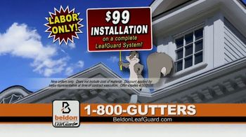 Beldon LeafGuard TV Spot, 'Over 650,000 Ladder Accidents: $99 Installation' - Thumbnail 7