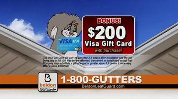 Beldon LeafGuard TV Spot, 'Over 650,000 Ladder Accidents: $99 Installation' - Thumbnail 8