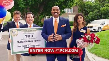 Publishers Clearing House TV Spot, '$7,000 a Week: Hurry' Featuring Steve Harvey - 812 commercial airings