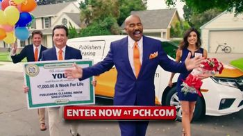 Publishers Clearing House TV Spot, '$7,000 a Week: Hurry' Featuring Steve Harvey - Thumbnail 1