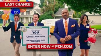Publishers Clearing House TV Spot, '$7,000 a Week: Hurry' Featuring Steve Harvey - Thumbnail 4