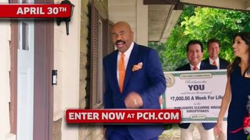 Publishers Clearing House TV Spot, '$7,000 a Week: Hurry' Featuring Steve Harvey - Thumbnail 7