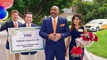 Publishers Clearing House TV Spot, '$7,000 a Week: What Are You Waiting For?' Featuring Steve Harvey