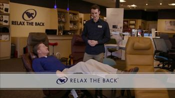 Relax the Back TV Spot, 'Zero Gravity Recliners: $500 Off' - Thumbnail 1