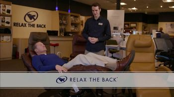 Relax the Back TV Spot, \'Zero Gravity Recliners: $500 Off\'