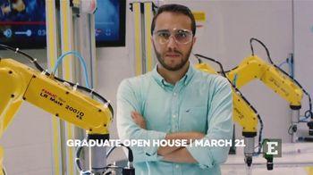 Eastern Michigan University TV Spot, '2020 Graduate Open House' - Thumbnail 9