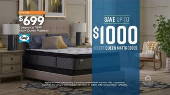 Ashley HomeStore Best of the Best Mattress Sale TV Spot, '$1000, Financing' Song by Midnight Riot - Thumbnail 4