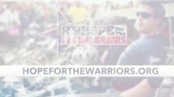 Hope for the Warriors TV Spot, 'Give Hope' - Thumbnail 9