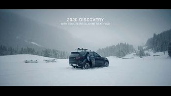 2020 Land Rover Discovery TV Spot, 'Play Harder: Remote Intelligent Seat Fold' Ft. Steven Nyman [T1] - Thumbnail 9