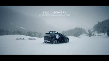 2020 Land Rover Discovery TV Spot, 'Play Harder: Remote Intelligent Seat Fold' Ft. Steven Nyman [T1] - Thumbnail 8