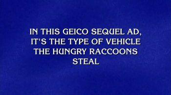 GEICO TV Spot, 'Jeopardy!: Racoon Heist'