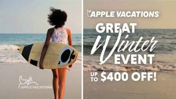 Apple Vacations Great Winter Event TV Spot, 'Clear Your Schedule: Iberostar Hotels & Resorts' - Thumbnail 4