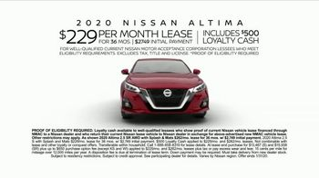 2020 Nissan Altima TV Spot, 'Be There' [T2] - Thumbnail 10