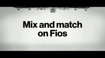 Fios by Verizon TV Spot, 'Mix & Match Launch' - Thumbnail 5