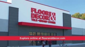 Floor & Decor TV Spot, 'Explore Floor & Decor' - Thumbnail 10