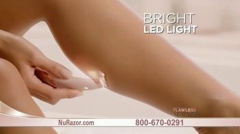 Finishing Touch Nu Razor TV Spot, 'Never Miss a Hair' - Thumbnail 2