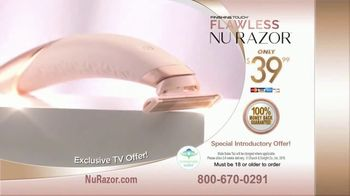 Finishing Touch Nu Razor TV Spot, 'Never Miss a Hair' - Thumbnail 3