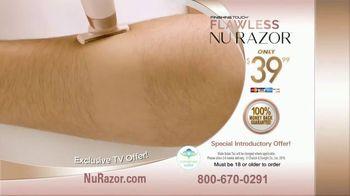 Finishing Touch Nu Razor TV Spot, 'Never Miss a Hair' - Thumbnail 5