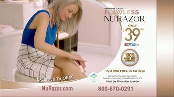 Finishing Touch Nu Razor TV Spot, 'Never Miss a Hair' - Thumbnail 6