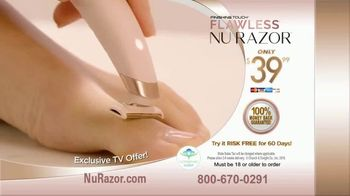 Finishing Touch Nu Razor TV Spot, 'Never Miss a Hair' - Thumbnail 8
