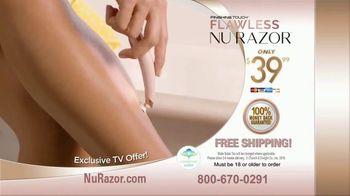 Finishing Touch Nu Razor TV Spot, 'Never Miss a Hair' - Thumbnail 9