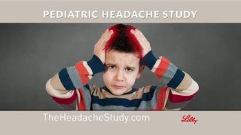 Eli Lilly TV Spot, 'Pediatric Headache Study'