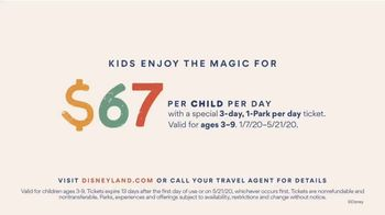 Disneyland TV Spot, 'The Happiest Place on Earth: $67 Per Child Per Day' - Thumbnail 6