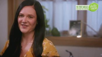 HelloFresh New Year's Sale TV Spot, 'Margaret and Nick: 10 Free Meals'