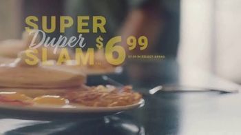 Denny's Super Duper Slam TV Spot, 'Super New Year'