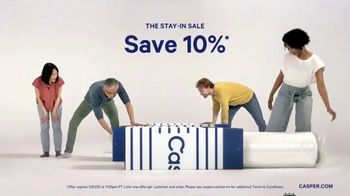 Casper The Stay-In Sale TV Spot, 'Try Not to Hit Snooze'