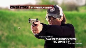 Smith & Wesson Performance Center TV Spot, 'Cover Story' - Thumbnail 7