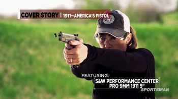 Smith & Wesson Performance Center TV Spot, 'Cover Story'