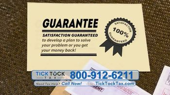 Tick Tock Tax TV Spot, 'Time Running Out' - Thumbnail 8