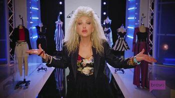 Novartis TV Spot, 'Project Runway: Sense of Style' Featuring Cyndi Lauper - Thumbnail 10