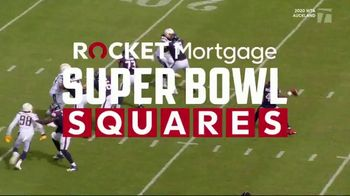 Rocket Mortgage Super Bowl Squares Sweepstakes TV Spot, 'Get Ready' - 3361 commercial airings