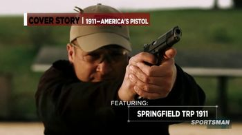 Smith & Wesson Performance Center TV Spot, 'Cover Story: Springfield TRP 1911'