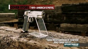 Smith & Wesson Performance Center TV Spot, 'Cover Story: Springfield TRP 1911' - Thumbnail 4