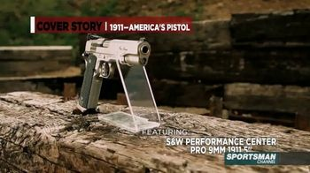 Smith & Wesson Performance Center TV Spot, 'Cover Story: Springfield TRP 1911' - Thumbnail 5