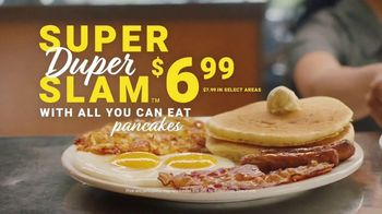 Denny's Super Duper Slam TV Spot, 'Where the Duper Comes In' - Thumbnail 8