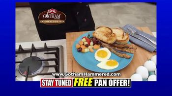 Gotham Steel Hammered Collection TV Spot, 'Reviews: Free Pan' - Thumbnail 5