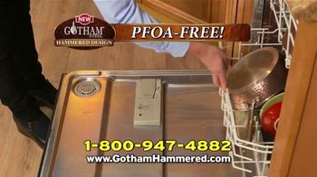 Gotham Steel Hammered Collection TV Spot, 'Reviews: Free Pan' - Thumbnail 9