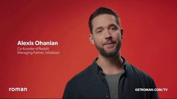 Roman TV Spot, 'Values' Featuring  Alexis Ohanian - Thumbnail 3