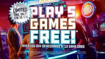 Dave and Buster's TV Spot, 'New Year's, New Games, and New Fun' - Thumbnail 7