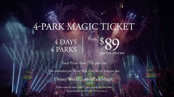 Disney World 4-Park Magic Ticket TV Spot, 'Been There. Haven't Done That.' - Thumbnail 9