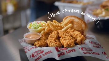 Raising Cane's Chicken Fingers TV Spot, 'Made With Love: Dallas Mavericks' Song by Yello