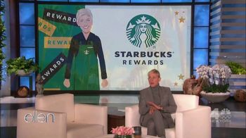 Starbucks Rewards TV Spot, 'Ellen Integration: Starbox and Australia'