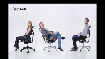 X-Chair TV Spot, 'Behind the World's Most Productive People: $100 Off and X-Wheel Upgrade'