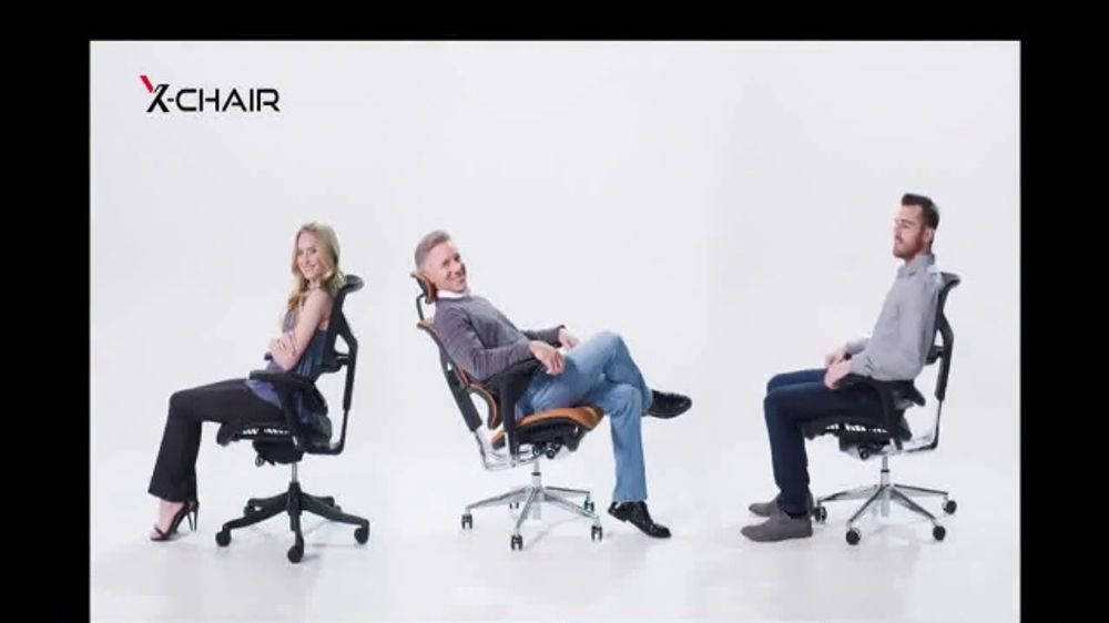 X-Chair TV Commercial, 'Behind the World's Most Productive People: $100 Off and X-Wheel Upgrade'